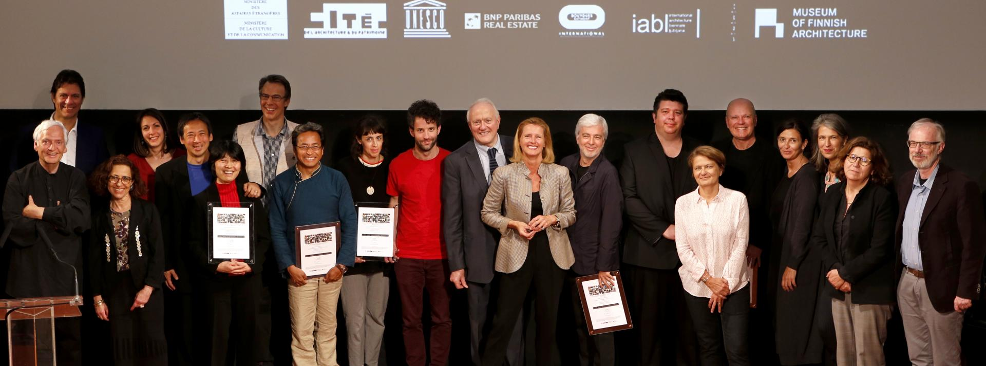 Global Award for Sustainable Architecture laureates 2017