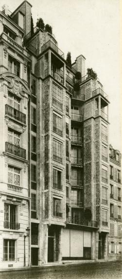 Immeuble de la rue Franklin, Paris 16e, 1903