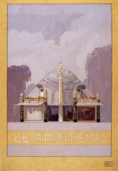Pavillon Primavera à l'Exposition internationale des Arts Décoratifs Modernes, Paris, 1925