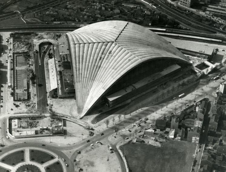 Centre national des industries et des techniques, La Défense, 1953-1958, Robert Camelot, Jean de Mailly, Bernard Zehrfuss