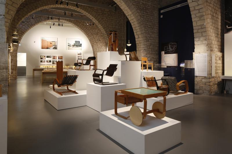 alvar aalto architecte et designer cit de l 39 architecture du patrimoine. Black Bedroom Furniture Sets. Home Design Ideas
