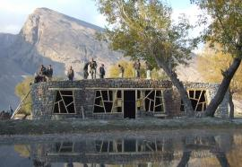 © Afir Architects. Visitor Centre Afghanistan 02.jpg