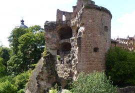 Tour cassée, Heildeberg