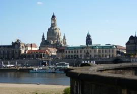 Vue de la ville de Dresde