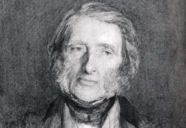Portrait de John Ruskin en 1879
