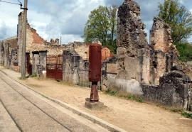 Vue de la ville d'Oradour-sur-Glane