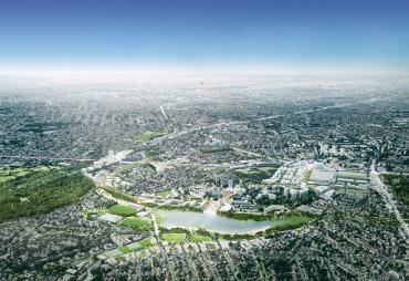 Montpellier une politique urbaine dans la continuit for Terre montpellier archi